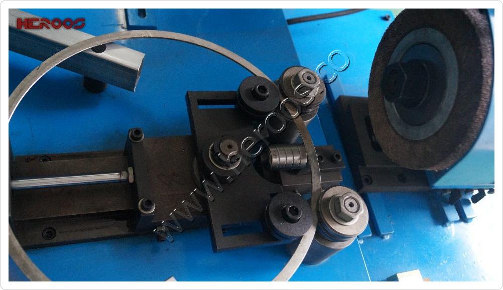 Metal Gasket Ring Polishing Machine