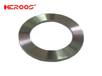 Corrugated Gasket with Graphite Coating
