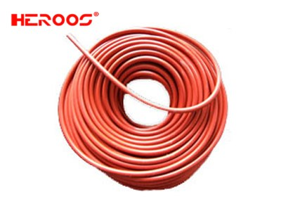 Red Silicon rubber cord